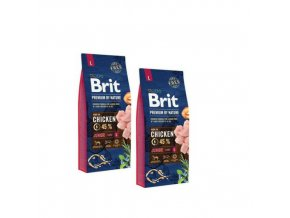 Brit Premium Dog by Nature Junior L 2x15kg