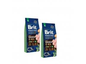 Brit Premium dog by Nature Junior XL 2x15kg