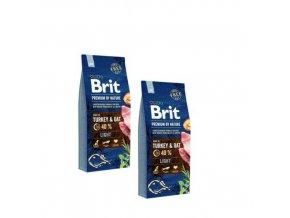 Brit Premium Dog by Nature Light 2x15kg