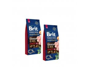 Brit Premium Dog by Nature Senior l+m 2x15kg