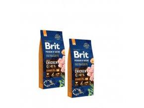 Brit Premium dog by Nature Senior S+M 2x15kg