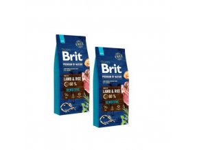 Brit Premium dog by Nature Sensitive Lamb 2x15kg