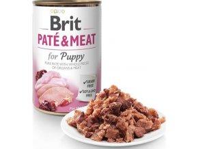 Brit Dog konz Paté & Meat Puppy 400g