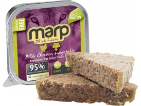 Marp Mix Chicken+Vegetable 100g