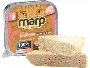 Marp Pure Salmon CAT Can Food 15x100g (14 + 1 ZDARMA)