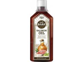 Canvit BARF Salmon Oil 0,5 l  + 1x Snacks Skin and Coat