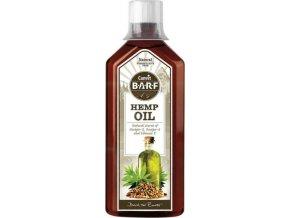 Canvit BARF Hemp Oil 0,5 l  + 1x Snacks Skin and Coat
