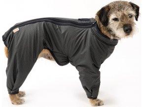 """Obleček - Kombinéza """"Trekky LUX""""zateplená černá 32 cm"""