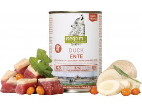 ISEGRIM Adult Prairie: Kachna s pastinákem, rakytníkem a bylinkami 400 g