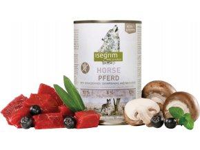 ISEGRIM Adult Steppe: Koňské maso s černým jeřábem a žampiony 400 g