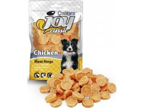 Calibra Dog Joy Classic Chicken Rings 80g NOVÝ