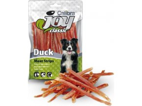 Calibra Dog Joy Classic Duck Strips 80g NOVÝ