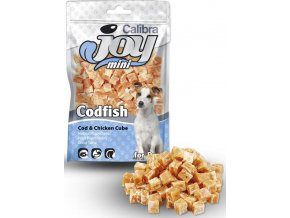 Calibra Dog Joy Mini Cod & Chicken Cube 70g NOVÝ