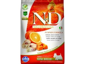 Farmina N&D dog GF adult mini ryba & pomaranč 7 kg