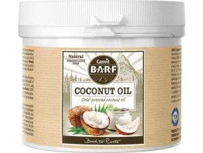 Canvit BARF Kokosový olej 600 g  + 1x Snacks Skin and Coat