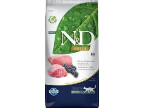 N&D PRIME CAT Adult Lamb & Blueberry 5kg