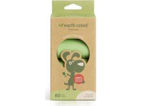 Sáčky Earth Rated kompostovatelné - 60 ks