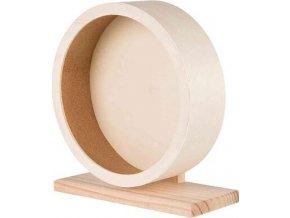 Dřevěné kolo pro křečky a degu 28 cm