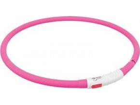 Flash USB svítící objek XS-XL 70 cm / 1 mm - růžová