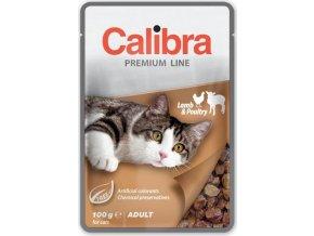 Calibra Cat kaps. Premium Adult Lamb & Poultry 100 g