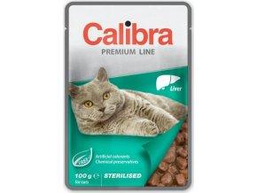 Calibra Cat kaps. Premium Sterilised Liver 100 g