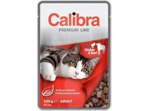 Calibra Cat kaps. Premium Adult Chicken & Beef 100 g