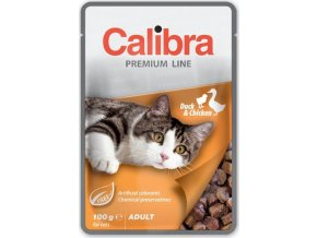 Calibra Cat kaps. Premium Adult Duck & Chicken 100 g