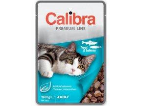 Calibra Cat kaps. Premium Adult Trout & Salmon 100 g
