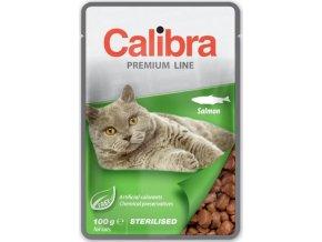 Calibra Cat kaps. Premium Sterilised Salmon 100 g