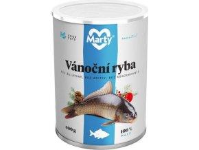 MARTY konz. pro psy a kočky - vánoční ryba 400 g