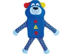 Hračka textil Zillowz Pes modrý Kong small