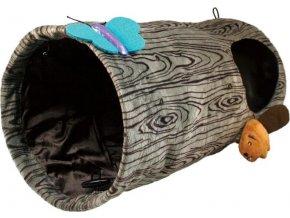 Hračka cat Burrow tunel pro kočky Kong