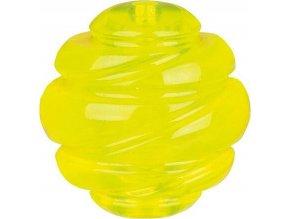 SPORTING tvrdý míč TPS 8 cm žlutý