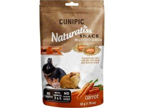 Cunipic Naturaliss snack Multivitamin pro drobné savce 50 g