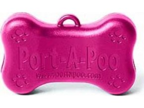 Port-A-Poo - držák na sáčky Mini - růžový