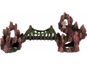 Akvarijní dekorace most 34 cm