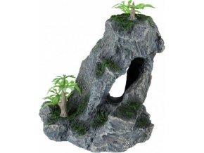 Akvarijní dekorace kamenná formace 14 cm
