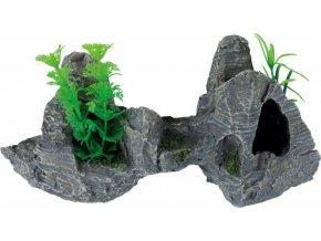 Akvarijní dekorace kamenná formace 26 cm