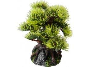 Dekorace do akvária- bonsai borovice 9,5cm Aqua Della
