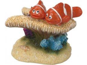 Dekorace do akvária - Klauni na sasance 6x3,5x5cm Aqua Della