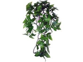 Dekorace umělá rostlina - popínavá Philodendron Komodo 30cm