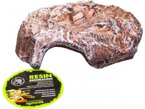 Dekorace umělá - jeskyně hnědá S Komodo 14x15,5x8cm