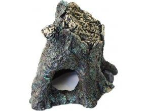 Dekorace umělá - úkryt v kmeni Daintree S Komodo 7,5x7x6cm