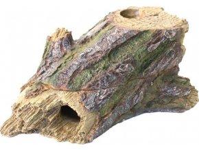 Dekorace umělá - kmen s úkrytem 2-dílný Komodo 23x9x12cm