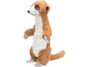 Surikata, plyšová hračka pro psy se zvukem, 40cm