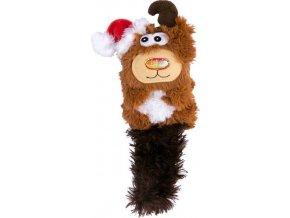 Hračka cat vánoč. Jelen Kong