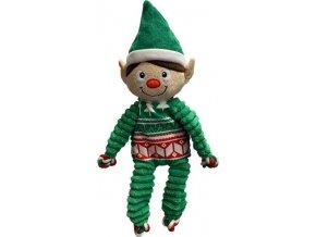 Hračka plyš vánoč. Floppy Elf Kong