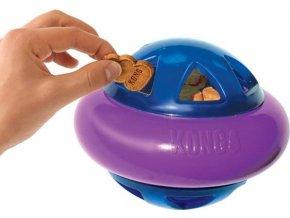 Hračka guma Hopz Ball plnící S Kong