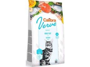 Calibra Cat Verve GF Adult Herring 750g
