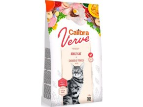 Calibra Cat Verve GF Adult Chicken&Turkey 3,5kg  + podestýlka EAZZY 6kg ZDARMA